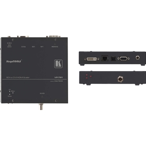 Kramer VP-791: 3G HD-SDI to DVI/HDMI Digital HQV Scaler with Color Correction and Geometric Pro...
