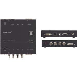 Kramer VP-792: Multi-Format to DVI/HDMI Digital HQV Scaler with Warp Mapping, HQV & Geometric P...