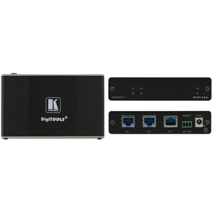 Kramer: VS-21T 2x1 4K 60Hz HDCP 2.2 Selector for Ethernet and HDBaseT Signals