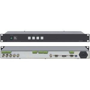Kramer VS-411: 4x1 Composite and Balanced St-Audio Switcher