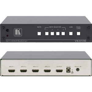 Kramer VS-41HC: 4x1 HDMI Switcher (HDCP) with IR Control V 1.3a