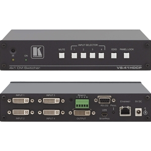 Kramer VS-41HDCP: 4x1 DVI Switcher