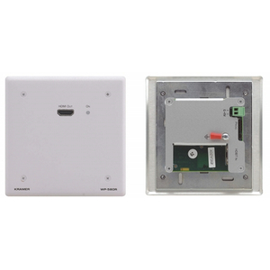 Kramer: WP-580R Active Wall Plate - HDMI over HDBaseT Receiver