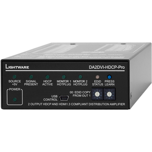Lightware: 1 Input 2 Output DVI and HDMI1.3 Distribution Amplifier