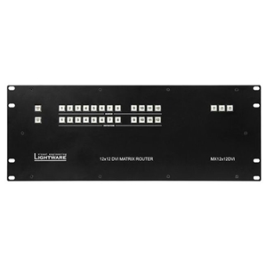 Lightware: MX12X12DVI-PLUS DVI Matrix Switcher