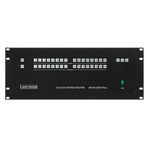 Lightware: MX16X16DVI-PLUS DVI Matrix Switcher