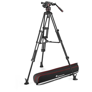 Manfrotto Nitrotech 608 & Alu Twin MS