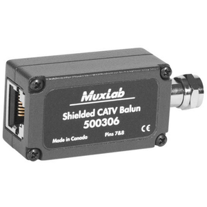 Muxlab Shielded CATV Balun