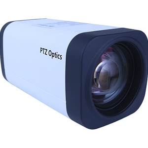 PTZ Optics ZCam 20X 1080p Box Camera with Lens
