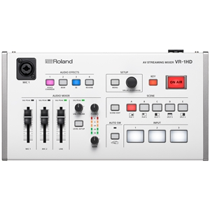 Roland: VR-1HD AV Streaming Mixer with Auto-Switching