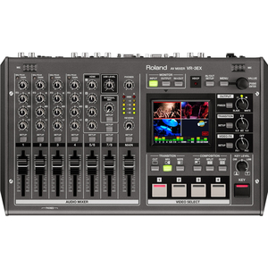 Roland: VR-3EX 4 Channel HDMI AV Mixer with Streaming