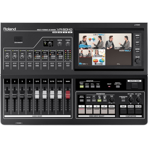 Roland: VR-50HD 4 Channel HD-SDI/HDMI AV Mixer with Streaming