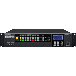 Roland: XS-82H 8-in x 2-out Multi-Format AV Matrix Switcher