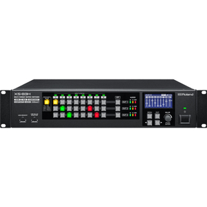 Roland: XS-83H 8-in x 3-out Multi-Format AV Matrix Switcher