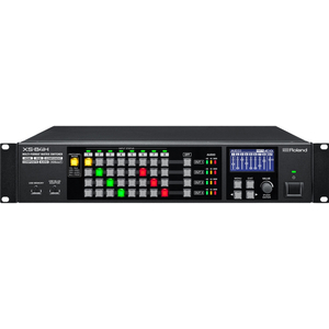 Roland: XS-84H 8-in x 4-out Multi-Format AV Matrix Swithcer