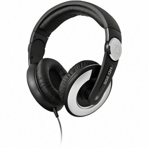 Sennheiser: HD 205 II Closed Circumaural Headphones with Rotatable Cups