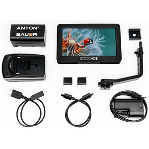 SmallHD: Focus Monitor Production Kit with Canon LPE6 Battery Eliminator