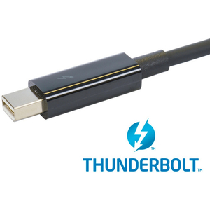 Sonnet Thunderbolt Cable, 0.5m, Black