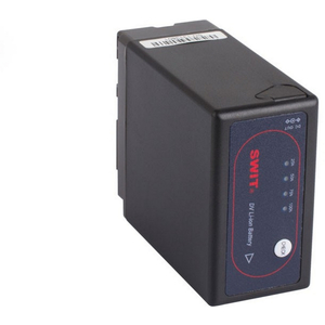 Swit: Panasonic VW-VBG6 Style Battery with Pole Jack DC Outlet
