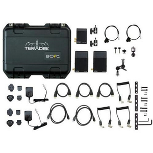 Teradek BOLT Pro 500 HD-SDI / HDMI Wireless Video TX/2RX Deluxe Kit