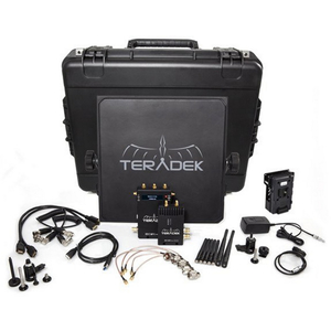 Teradek BOLT Pro 1000 HD-SDI / HDMI Wireless Video TX / RX Deluxe Kit with V Mount