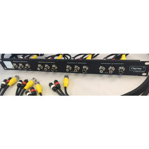 Osprey - 1RU 4 channels composite and 4 stereo channels unbalanced audio