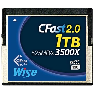 Wise 1TB CFast 2.0 Memory Card 3500X