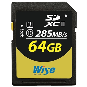 Wise 64GB SDXC UHS-II Memory Card